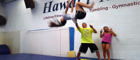 Scott Ryan Hawaii Gymnastics Coach