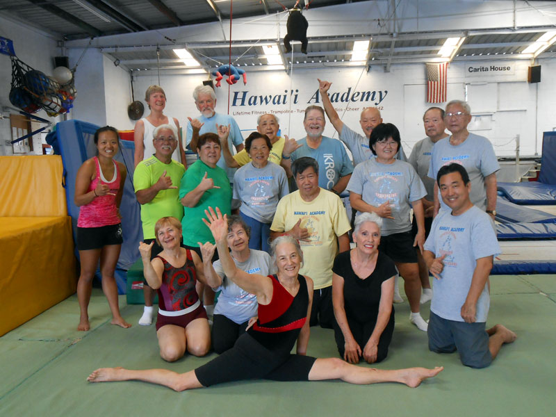 Private Gymnastics Lessons Honolulu Hawaii