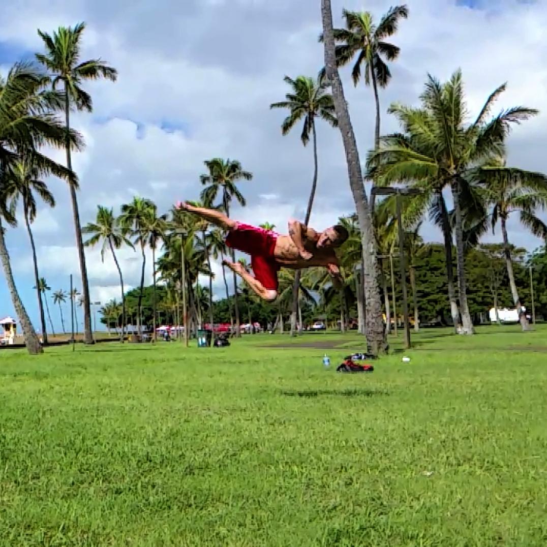 Ninja Training Hawaii Scott Ryan