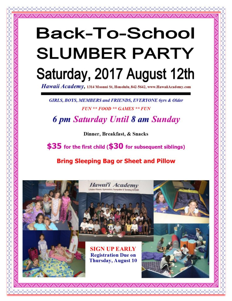 17SummerSlumberParty