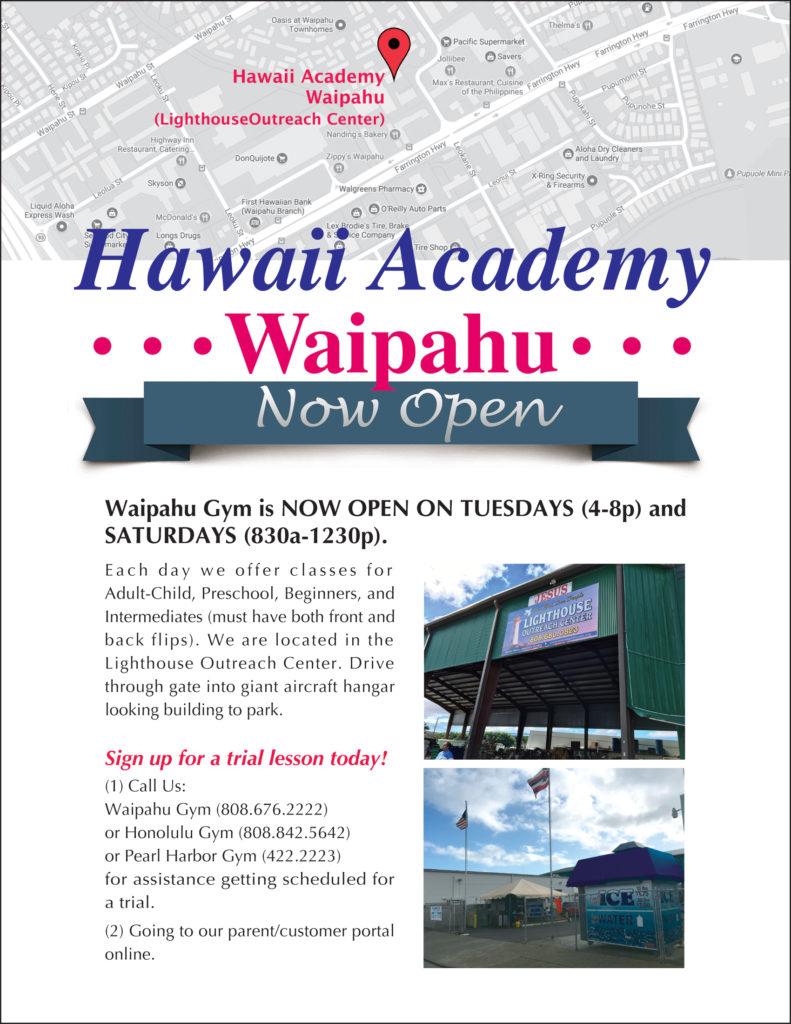 Waipahu Gymastics Classes