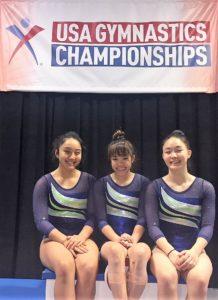 Hawaii Gymnasts Lead Country
