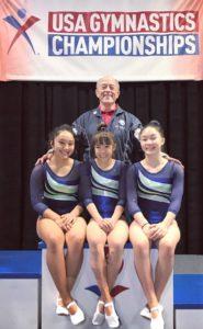 hawaii wins gymnastics