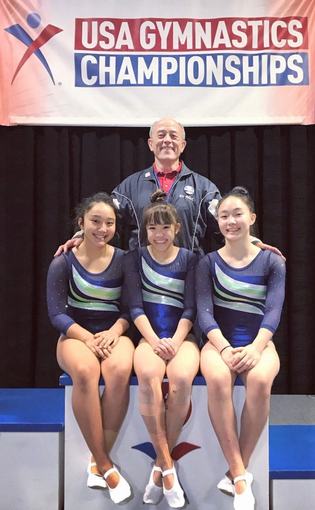 Hawaii Gymnasts Lead Country